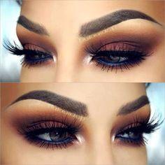 Conoce cómo debes maquillarte #Eyes #makeup #beauty #ojos #maquillaje #style