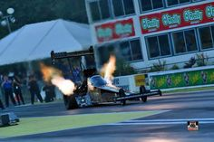 Tony Schumacher & Team Racing at the Northwest Nationals in the Army Nitro Dragster