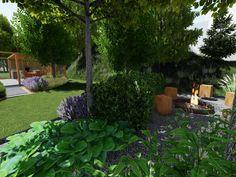 Návrhy a realizácie záhrad 🌿 Záhrada s ohniskom. 🌳🔥Súčasťou našej práce sú realizácie a návrhy záhrad taktiež aj rekoštrukcie existujúcich záhrad. 💪 Aktuálne je ideálne obdobie na plánovanie zmien a rekonštrukcií. Plants, Plant, Planets