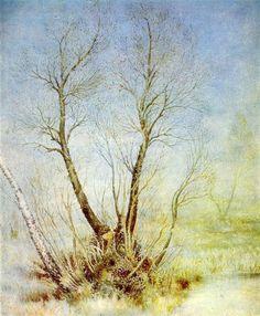 In Bogdanovka by the dam, 1955 by Kateryna Bilokur. Naïve Art (Primitivism). flower painting