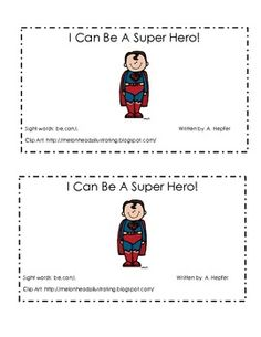 This reader is perfect for back to school. It features popular super heroes and talks about important, positive school behaviors. ...