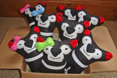 Tasmanian Softies (part proceeds go to the Save the Tasmanian Devil Fund). Article by Carol Haberle for Think Tasmania. Tasmanian Devil, Softies, No Time For Me, Christmas Stockings, Dinosaur Stuffed Animal, Snoopy, 31 March, March 2014, Australian Competitions
