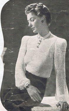 1940s Vintage Knitting Patterns PDF Copy of by GrannyspdfPatterns