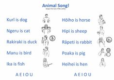 Te Reo and Sign Language Teaching Reading, Teaching Tools, Learning, Preschool Ideas, Activities For Kids, Maori Songs, Treaty Of Waitangi, Sign Language For Kids, Color Songs
