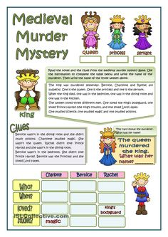 This looked like such a great, fun tool. The students work with context clues to figure out a murder mystery. This gets them thinking and having fun!