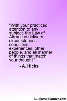 See: http://awakenedsource.com for free Law Of Attraction articles