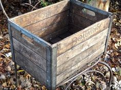 Bowman Crate 1951 Milk Crate 1950s Chicago by MaxsUniquities