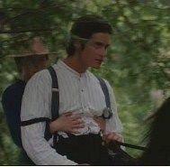 David and Christy on horseback