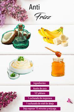 Todas las mujeres batallamos con esto, así que has ya esta receta anti frizz y conozcan más en nuestro artículo.  Cuidado de cabello, melena, salud, higiene.