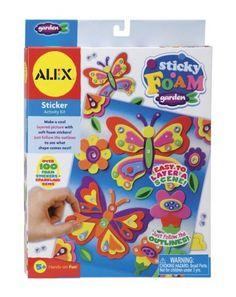 Alex Toys Sticky Foam Garden by ALEX TOYS, http://www.amazon.com/dp/B000MUONA6/ref=cm_sw_r_pi_dp_T7Pyqb0J29RVV