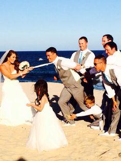 Fun Wedding Picture..