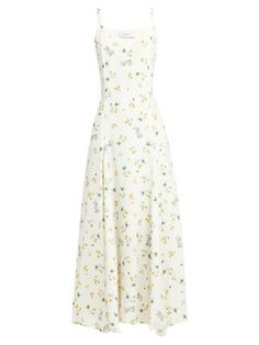New Racil Ava silk floral slip dress. Womens Dresses from top store Dress Outfits, Casual Dresses, Cool Outfits, Fashion Dresses, Summer Dresses, Slip Dresses, Mode Ootd, Look Fashion, Womens Fashion