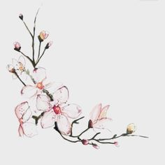 Love how dainty this is! :) florals are soo pretty