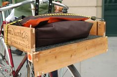 Cabernet Sauvignon front bike basket
