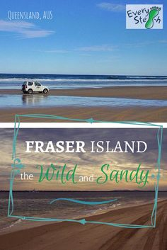 Fraser Island, in Queensland, australia, is the largest sand island of the world. You love ecotourism? Read why you have to book a trip now.