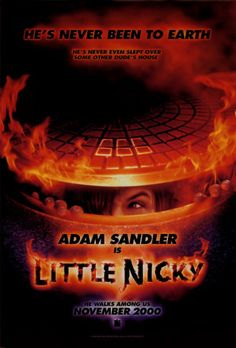 Little Nicky , starring Adam Sandler, Patricia Arquette, Harvey Keitel, Rhys Ifans. A movie about the independent minded son of Beelzebub and the mischief he creates. Fast And Furious, Streaming Vf, Streaming Movies, Infinity War, Little Nicky, Avengers, Patricia Arquette, Horror Posters, Step Brothers
