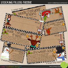 100 Best Christmas Ideas (Free Printables) {2} - Craftionary
