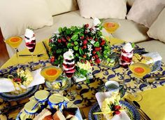 52 best { Tablescapes } images on Pinterest | Place settings, Table ...
