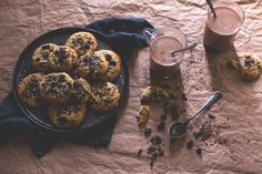 chocolate and ginger sesam cookies