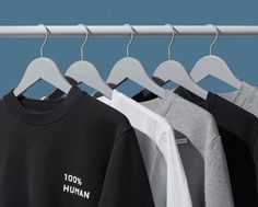 100% Human   Everlane  100% Human Black Unisex tee and 100% Human Enamel Pin