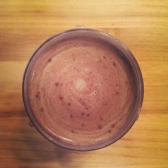 Chocolate Banana Protein Smoothie - full recipe on blog!