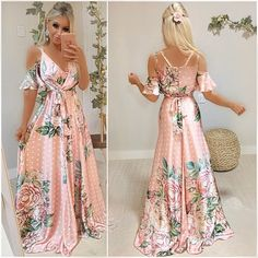 Boho Fashion, Fashion Looks, Fashion Outfits, Grad Dresses, Casual Dresses, Pretty Dresses, Beautiful Dresses, Summer Outfits Women, Summer Dresses