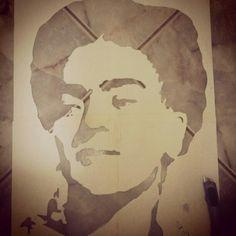 Frida Kahlo - stencil