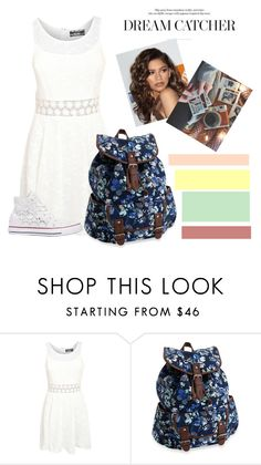 """""""Crochet dress"""" by hanshikabiswas ❤ liked on Polyvore featuring Pilot, Aéropostale, Converse, Coleman, women's clothing, women, female, woman, misses and juniors"""
