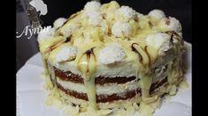 Rafaello Çikolatali Kolay Pasta Tarifi# FİLDİŞİ Kuvetürlü Yaş Pasta-Raf...