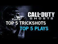 Call of Duty Ghosts: TOP 5 KILL CAMS | TOP 5 TRICKSHOTS(KILL CAMS)!!