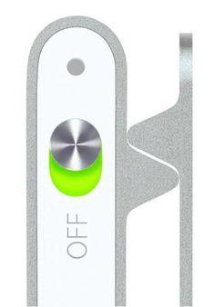 iPod, button, aluminium