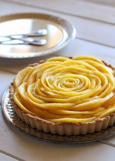 Friday Favorites! Mango Tart by Bakerita (GF, Vegan)