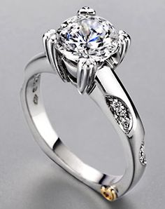 this one's interesting. prefer a princess cut stone though