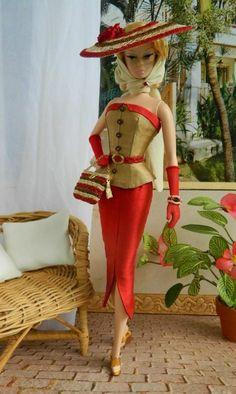 Cabana OOAK Fashion for Silkstone Barbie by Joby Originals Barbie Fashionista, Barbie Dress, Barbie Clothes, Fashion Royalty Dolls, Fashion Dolls, Barbie Wardrobe, Moda Retro, Vintage Barbie Dolls, Barbie Collection