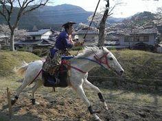 Japan myArgonauts: Yabusame 流鏑馬 in Tsuwano, Shimane ken horseback archery