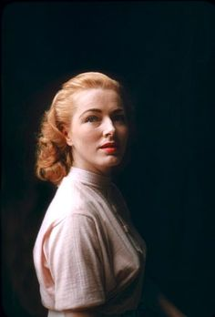 "Eleanor Parker - a ravishing redheaded leading lady of the 1940s and 50s, She made her debut in Raoul Walsh's ""They Died with Their Boots On"" (1941) ""Pride of the Marines"" (1945) ""Voice of the Turtle"". She won 3 Best Actress Oscar nominations for ""Caged"" & ""Detective Story""  & ""Interrupted Melody""."