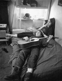 Bob Dylan in love