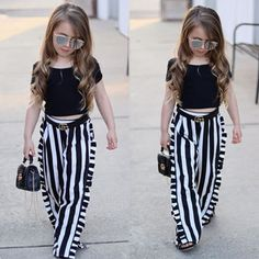 Fashion Kids, Summer Fashion Outfits, Baby Girl Fashion, Fashion Clothes, Girl Clothing, Kids Outfits Girls, Little Girl Outfits, Toddler Girl Outfits, Baby Girl Dress Patterns