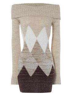 diamond tunic jumper