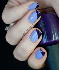 lydias nails french twist