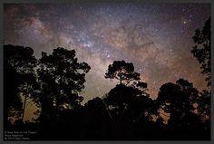 Mistérios do Espaço As fotos incríveis do céu noturno, são registradas após a câmera ficar um longo período exposta a Luz!