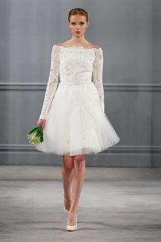 Monique Lhuillier Spring 2014 Bridal Collection | Merci New York Blog