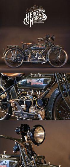 1922 HARLEY-DAVIDSON 600cc MODEL WJ SPORT