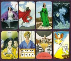 The Witch's Tarot Deck