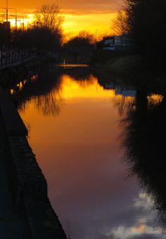 Grand Canal, Dublin (Photo by Zuzanne)
