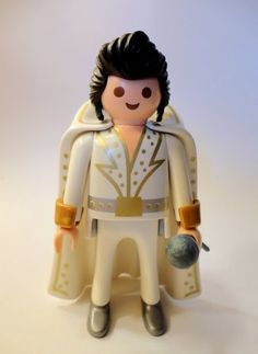 Playmobil Elvis Presley Rockabilly.