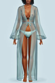 "santosfashionsims: "" Rihanna - Needed Me Transparent Gown • Recolorable • Female Y/A • New mesh • CAS Thumbnail Download Tag santosfashionsims if you use it, so i can see your post and reblog..."