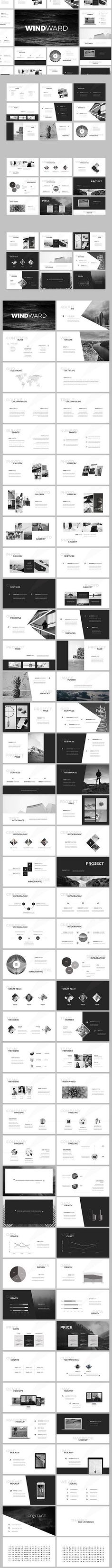 WindWard PowerPoint Template 859006