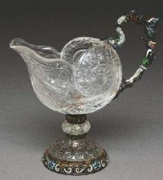 a silver-Gilt Dessert Set by Hermann Ratzersdorfer: an article by Jayne W. Dye and Karin Sixl-Daniell for ASCAS - Association of Small Collectors of Antique Silver website Engraving Art, Crystal Vase, Beautiful Rocks, Stone Carving, Decorative Objects, Stones And Crystals, Antique Silver, Art Decor, Glass Art