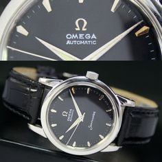 1952s Vintage OMEGA Seamaster 354 Bumper Automatic Steel Mens Watch Uhr in Wristwatches | eBay